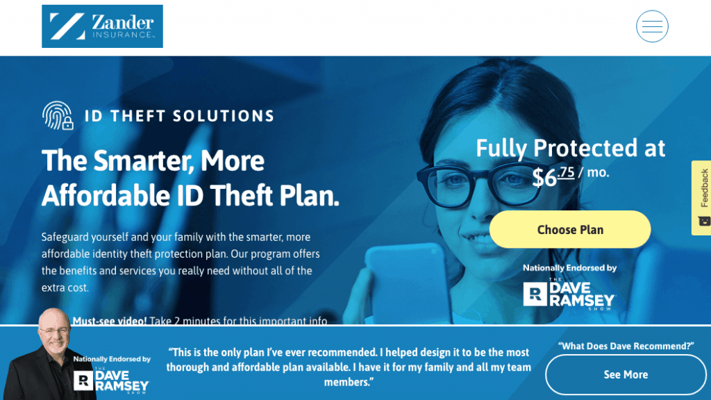 Zander Insurance Identity Theft Protection Services in 2020