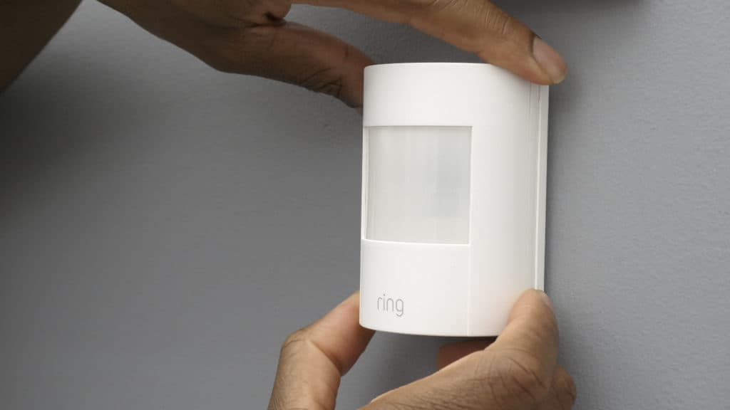 Installing the Ring Motion Detector