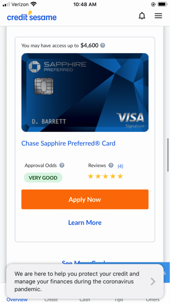 Credit Sesame - Review 2020 - PCMag Asia