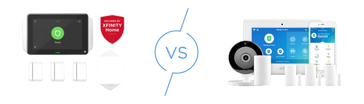 Xfinity Vs Adt Which Home Security System Should You Get